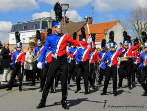 La Vaillante, Show et Marching Band de Saint Quentin